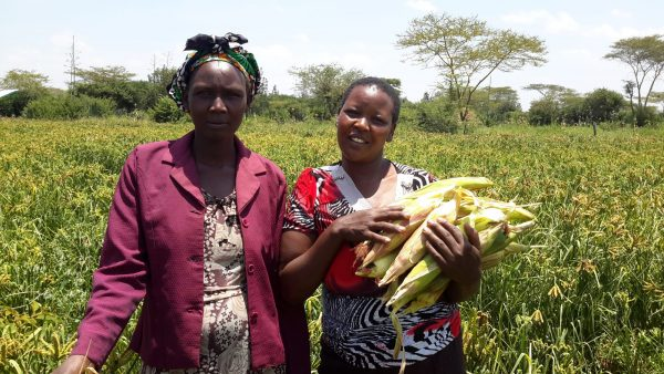 ladies from one of the groups in our Women's Empowerment program