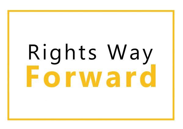 Rights way forward